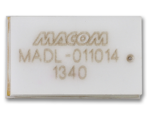The MADL-011014 boasts 0.35 dB insertion loss and 19 dBm flat leakage power at +55dBm and is offered ...