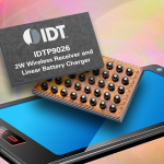 IDT Announces World's Smallest 2-Watt Wireless Power Receiver for Wearable Devices (Photo: Business Wire)