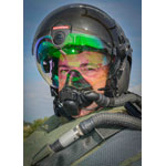BAE Systems' Striker II helmet integrates exceptional night vision and tracking technology into a fully digital, visor-projected system. (Photo: BAE Systems)
