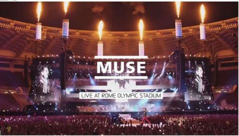 MUSE Live at Rome Olympic Stadium in 4K (Photo: Business Wire)