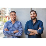Bubblews Co-founders, Arvind Dixit (left) and Jason Zuccari (right). (Photo: Business Wire)