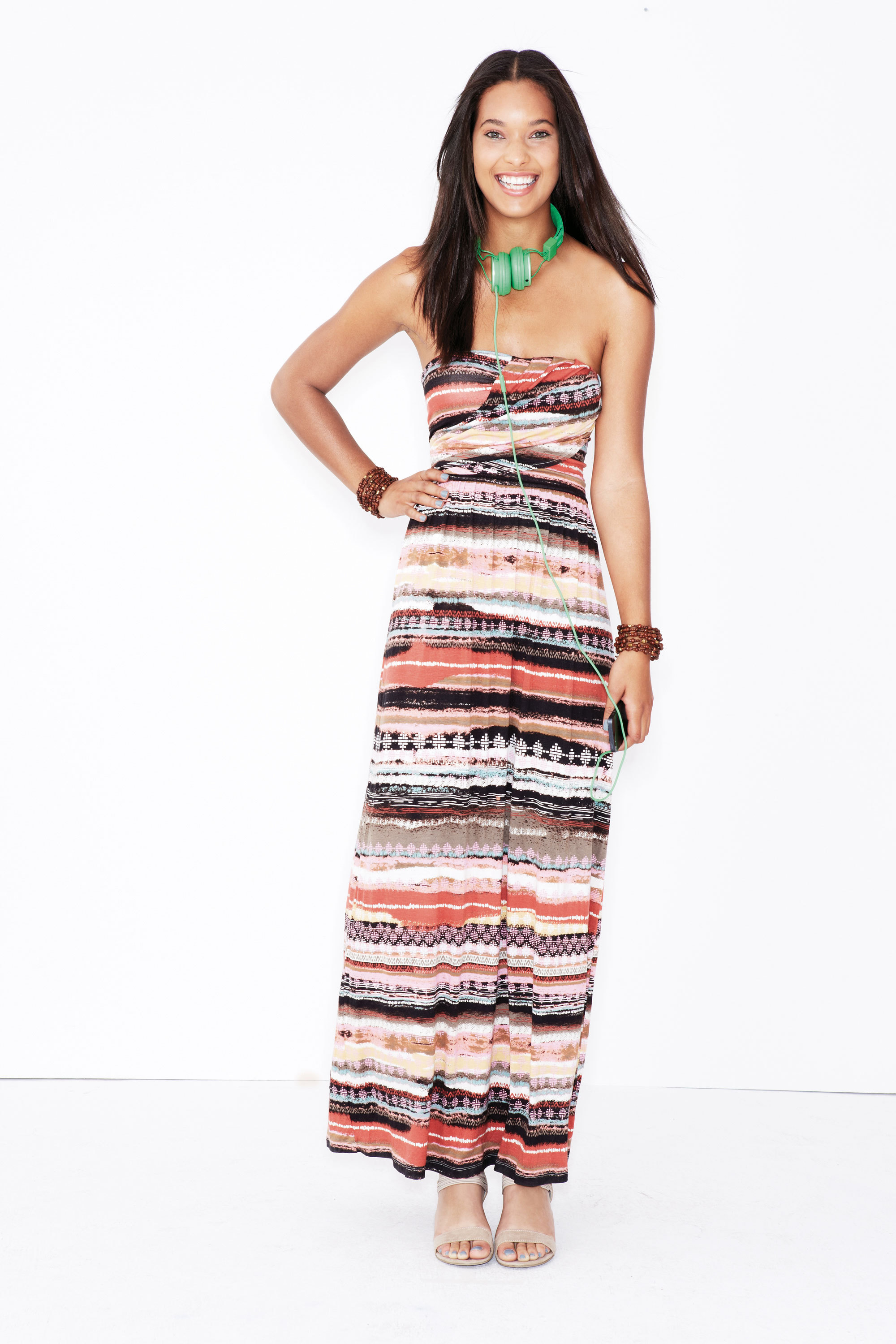 Shop Macy's for the best in style and savings this Back-to-School season; American Rag Maxi Dress $49.50 (Photo: Business Wire)