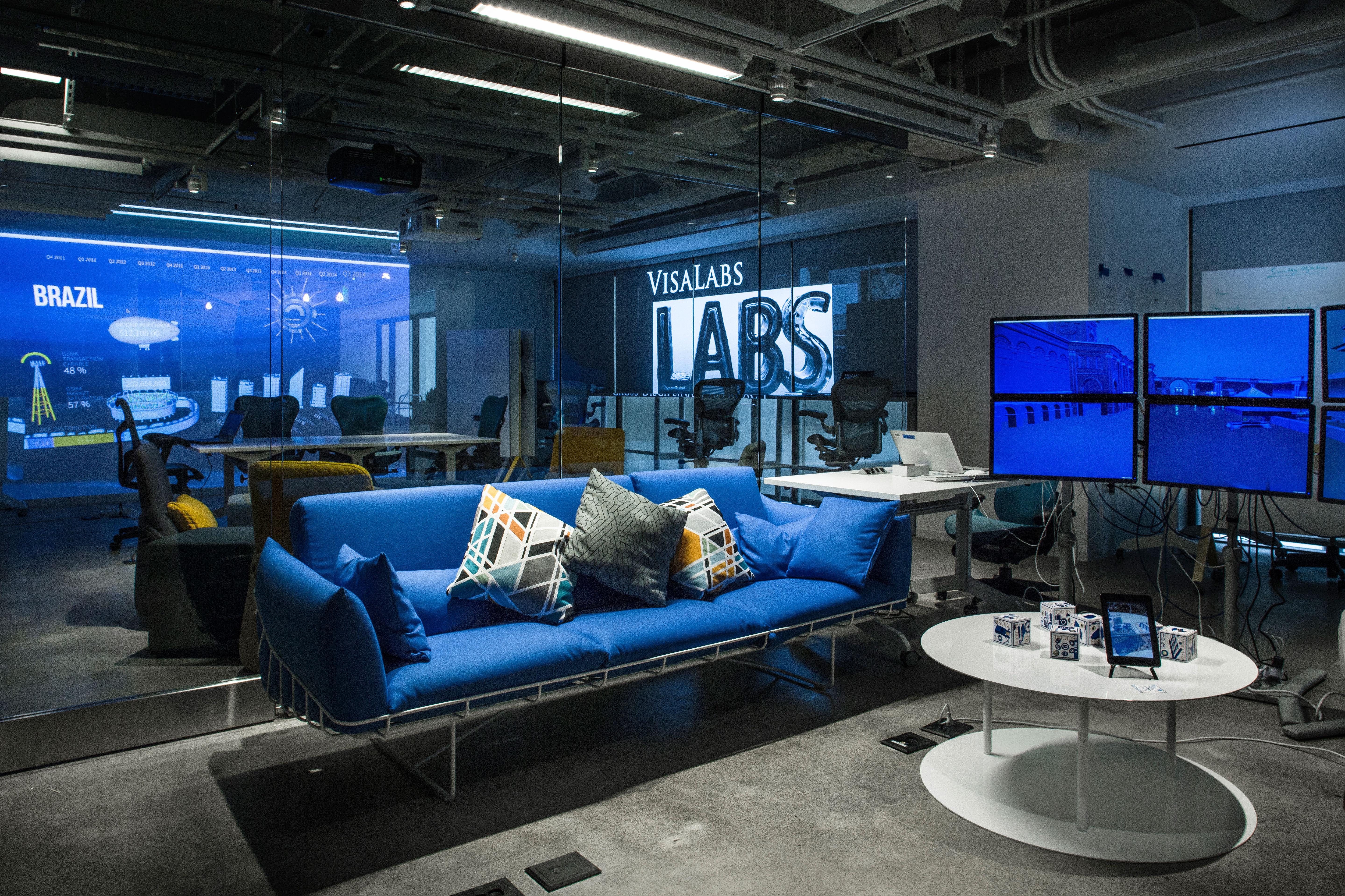 Visa One Market, innovation center (Photo: Business Wire)
