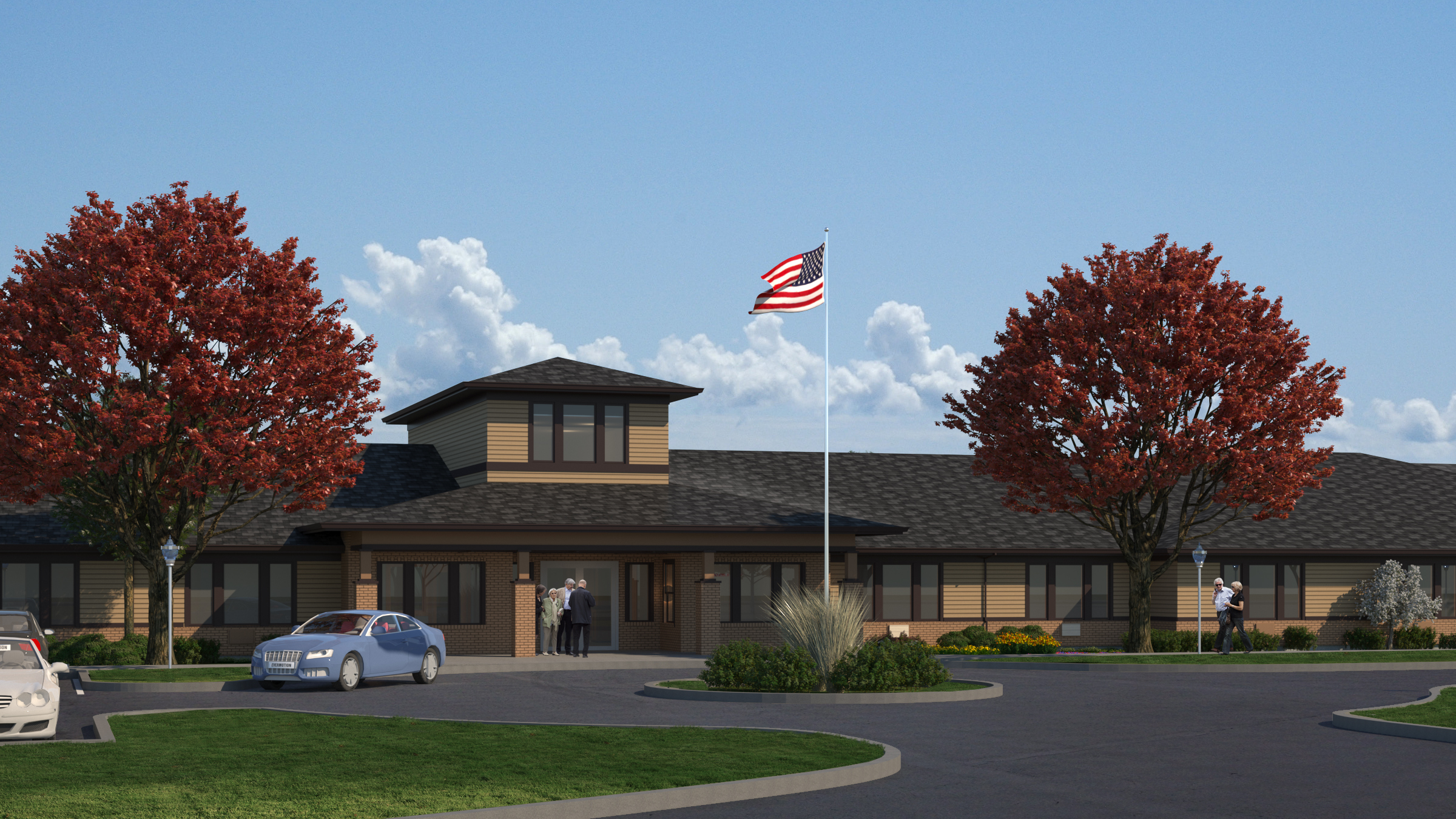 Anthem Memory Care is planning a 40,000 SF community for 76 residents in Burr Ridge, a suburb of Chicago. (Photo: Business Wire)