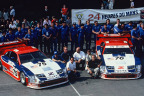 """Nissan ready to """"party like it's 1994"""" - Le Mans winning No. 75 Nissan 300ZX race car set for Monterey Motorsports Reunion (Photo: Business Wire)"""