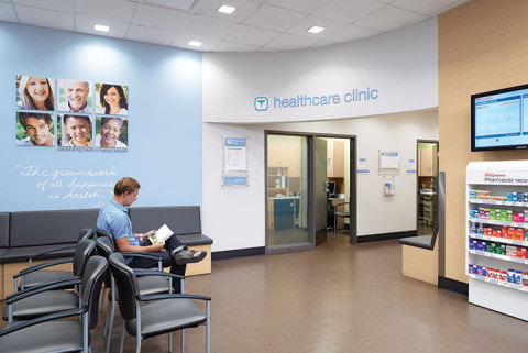 Healthcare Clinic at Walgreens (Photo: Business Wire)