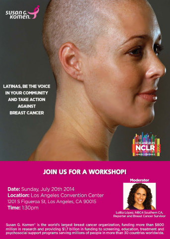 Join Susan G. Komen at the NCLR Annual Conference (Graphic: Business Wire)