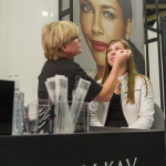 A Mary Kay Independent Beauty Consultant attends the product demonstration expo at the beauty company's annual Seminar held in Dallas. The convention provides education about the company's newest product offerings. (Photo: Business Wire)