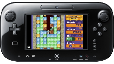 Armed with a mighty drill, dig deep through multicolored blocks until reaching safety in Mr. Driller 2. (Photo: Business Wire)