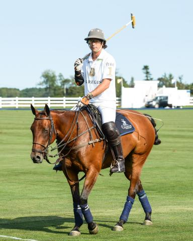 St. Regis Connoisseur Nacho Figueras to captain polo teams Coast to Coast with St. Regis Hotels & Resorts (Photo: Business Wire)