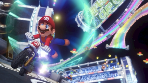 Mario Kart 8 is already one of the best-selling Wii U games of all time, and racers who visit the Nintendo Gaming Lounge will be able to compete in local Mario Kart 8 competitions. (Photo: Business Wire)