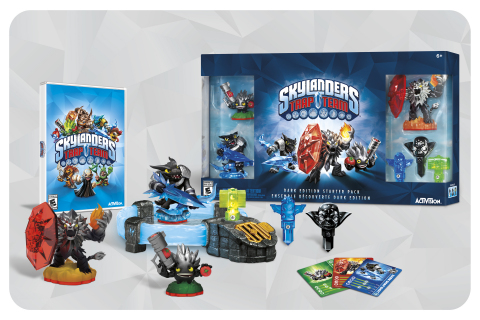 Skylanders Trap Team Dark Edition Exploded Starter Pack (Photo: Business Wire)