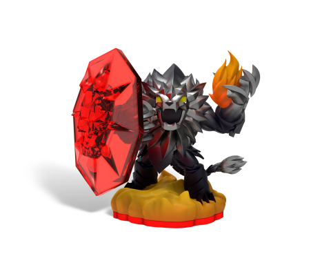 Skylanders Trap Team Dark Edition Wildfire Toy (Photo: Business Wire)