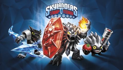 Skylanders Trap Team Dark Edition Key Art. (Photo: Business Wire)