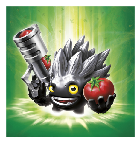 Skylanders Trap Team Dark Edition Food Fight Character Illustration. (Photo: Business Wire)
