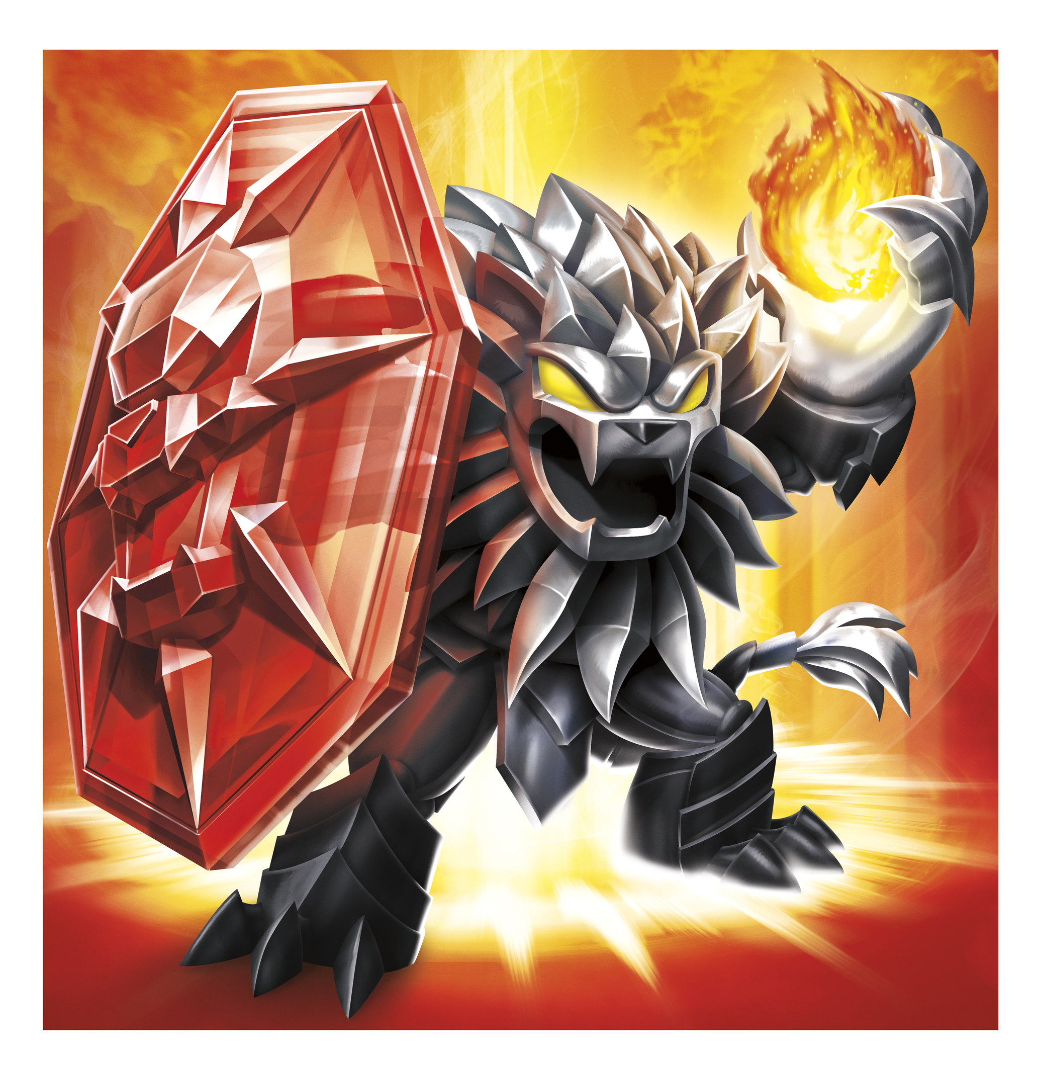 Skylanders Trap Team Dark Edition Wildfire Character Illustration. (Photo: Business Wire)