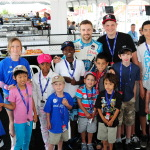 Canadian Verizon IndyCar driver, James Hinchcliffe, visits Make-A-Wish Canada children at the Honda Indy Toronto. Thanks to the generosity of Toronto race fans, support from the Ontario Honda Dealers Association and Honda Canada Inc., more than $62,000 was raised for Make-A-Wish Canada during a race weekend filled with fun both on and off the track. (Photo: Business Wire)