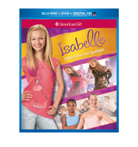 Isabelle Dances Into the Spotlight Blue-ray Combo Pack (Photo: Business Wire)