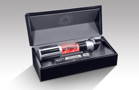 Hot Wheels® Star Wars™ Darth Vader vehicle (Photo: Business Wire)
