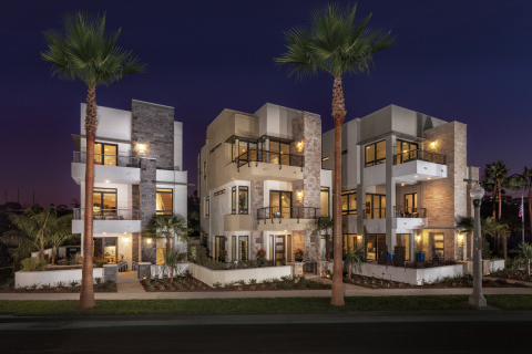 Exterior view of KB Home's Asher at Playa Vista in Los Angeles. (Photo: Business Wire)
