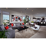 Great room living at KB Home's Asher at Playa Vista in Los Angeles. (Photo: Business Wire)