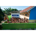 Electricity comes to school! (Photo: Business Wire)