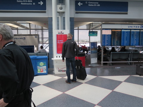 The Interactive Charging Station network includes kiosks in three airports: Hartsfield-Jackson Atlan ...