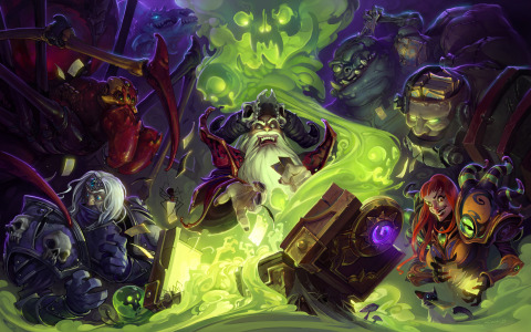 The first wing of Curse of Naxxramas(TM): A Hearthstone(TM) Adventure is free for a limited time. (Graphic: Business Wire)