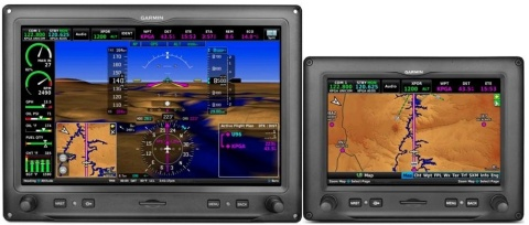 Dual Garmin G3X Touch Displays (Photo: Business Wire)