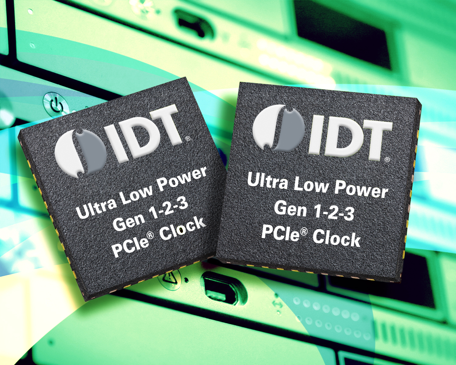 IDT Announces 1.5 Volt PCI Express® Clock Buffer Family Offering Industry-leading Space and Power Savings (Graphic: Business Wire)