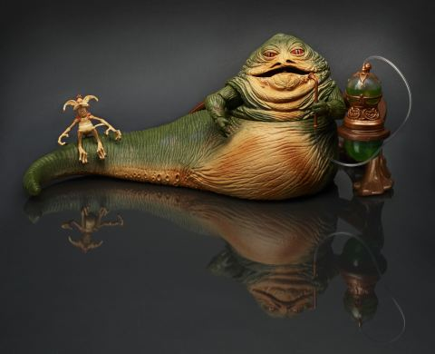 STAR WARS® THE BLACK SERIES 6-INCH JABBA THE HUTT™ THRONE ROOM ACTION FIGURE Set Available at Booth #3329 at Comic-Con International in San Diego. Following the convention, a limited number will be available for purchase online at HasbroToyShop.com for an approximate retail price of $64.99. (Photo: Business Wire)