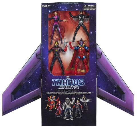 MARVEL'S THE THANOS IMPERATIVE LEGENDS Action Figure Pack Available at Booth #3329 at Comic-Con International in San Diego. Following the convention, a limited number will be available for purchase online at HasbroToyShop.com for an approximate retail price of $99.99. (Photo: Business Wire)