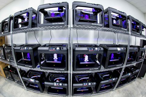MakerBot, a global leader in the desktop 3D printing industry, and Florida Polytechnic University, j ...