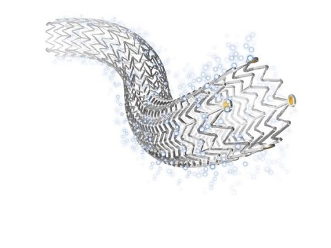 Cook Medical's Zilver ® PTX ®, the world's first self-expanding, drug-eluting stent designed to treat peripheral artery disease in the superficial femoral artery. (Photo: Business Wire)