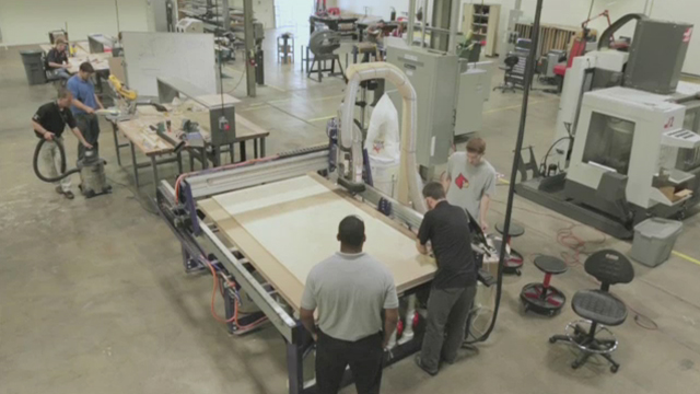 Take a virtual tour of the FirstBuild Microfactory in Louisville, Ky. (Video: GE)