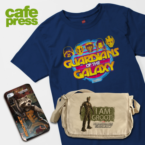 CafePress joins Marvel For Cosmic Adventure With Marvel's Guardians of the Galaxy (Photo: Business W ...