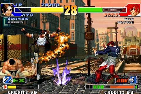 """Series' masterpiece """"KOF '98"""" finally joins the battle! (Photo: Business Wire)"""