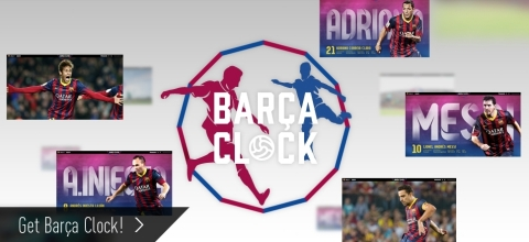 BARCA CLOCK, the PC Screen Saver (Graphic: Business Wire)