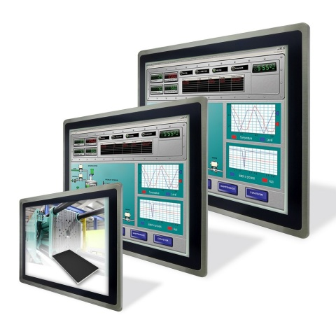Touch Panel PC with Robust Die-Cast Aluminum Housing, Human Machine Interface (HMI) (Photo: Business Wire)