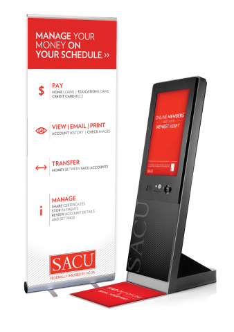 Designed to run on the NCR SelfServ 85, a stylish, slimline kiosk with multi-touch capabilities, the ...