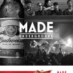 Budweiser MADE Underground (Graphic: Business Wire)