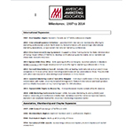 American Marketing Association Milestones Fact Sheet