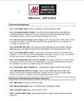 American Marketing Association Milestones Fact Sheet