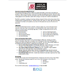 About the American Marketing Association Fact Sheet