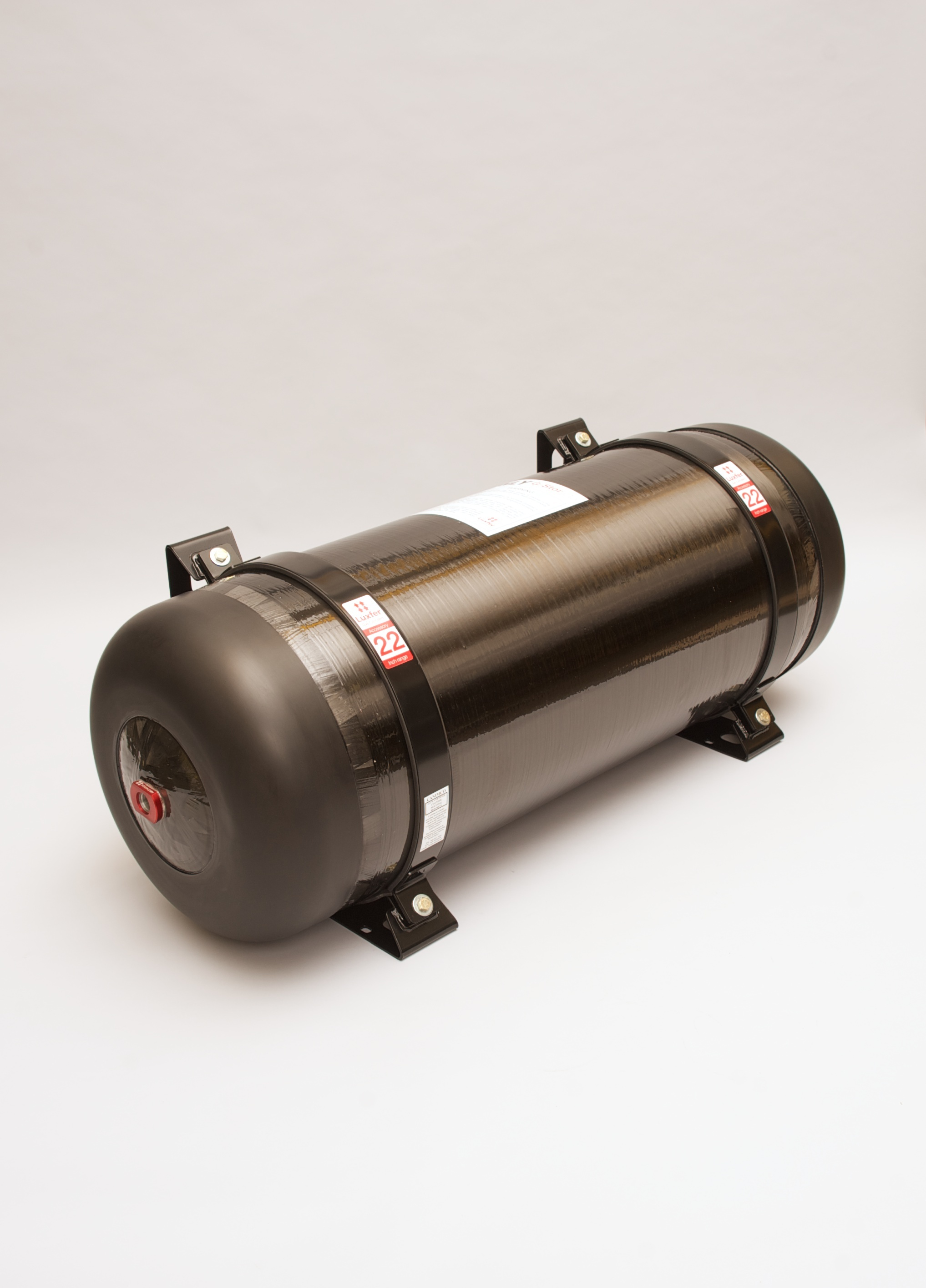 Luxfer 22-inch G-Stor Go Type 4 cylinder for compressed natural gas (CNG). (Photo: Business Wire)