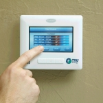 TXU Energy introduced the Brighten iThermostat in 2009. (Photo: Business Wire)