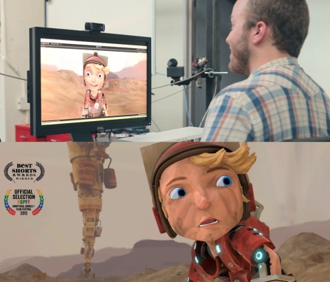 Real-Time Animation of Cartoon Character Faces (C) 2014 Emiliano Gambaretto, Charles Pina, Mixamo, Inc. (Photo: Business Wire)