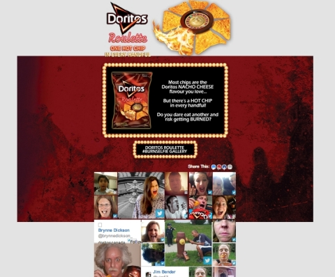 Doritos Social Campaign Powered by Commerce from Offerpop (Photo: Business Wire)