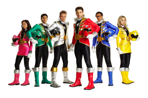 Power Rangers Super Megaforce Live Action Cast Only at the Nickelodeon Hotel (Photo: Business Wire)