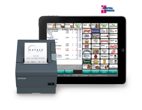 Digital Dining and Epson TM-T88V (Photo: Business Wire)